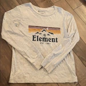 Element Gray long sleeve